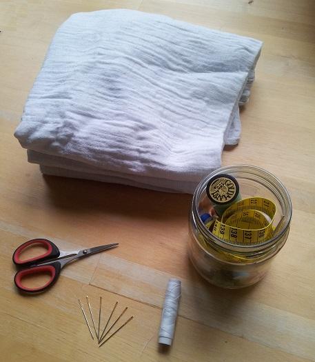 benodigdheden naaiproject