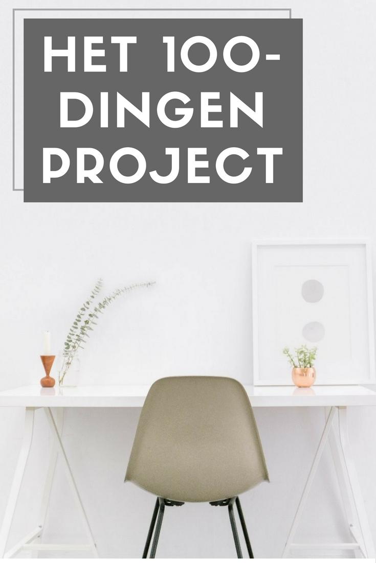 100-dingen project