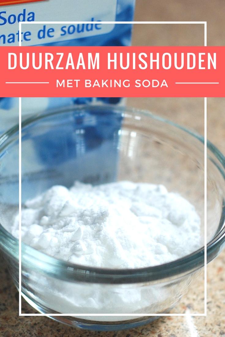 Duurzaam huishouden met baking soda
