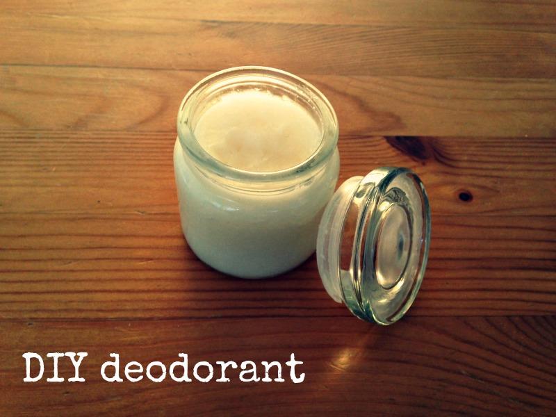 DIY deodorant