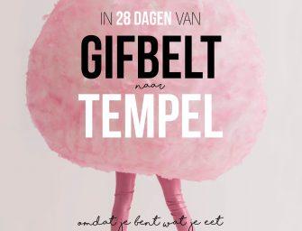 Kookboektip: In 28 dagen van Gifbelt naar Tempel