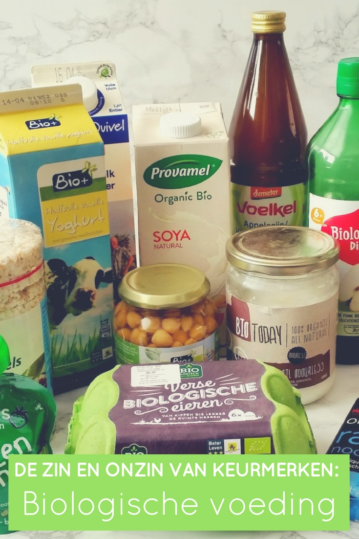 De zin en onzin van keurmerken - biologische voeding