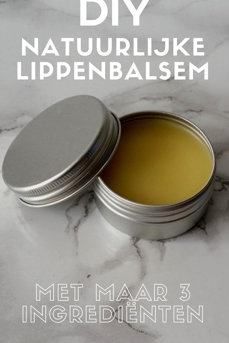 DIY lippenbalsem