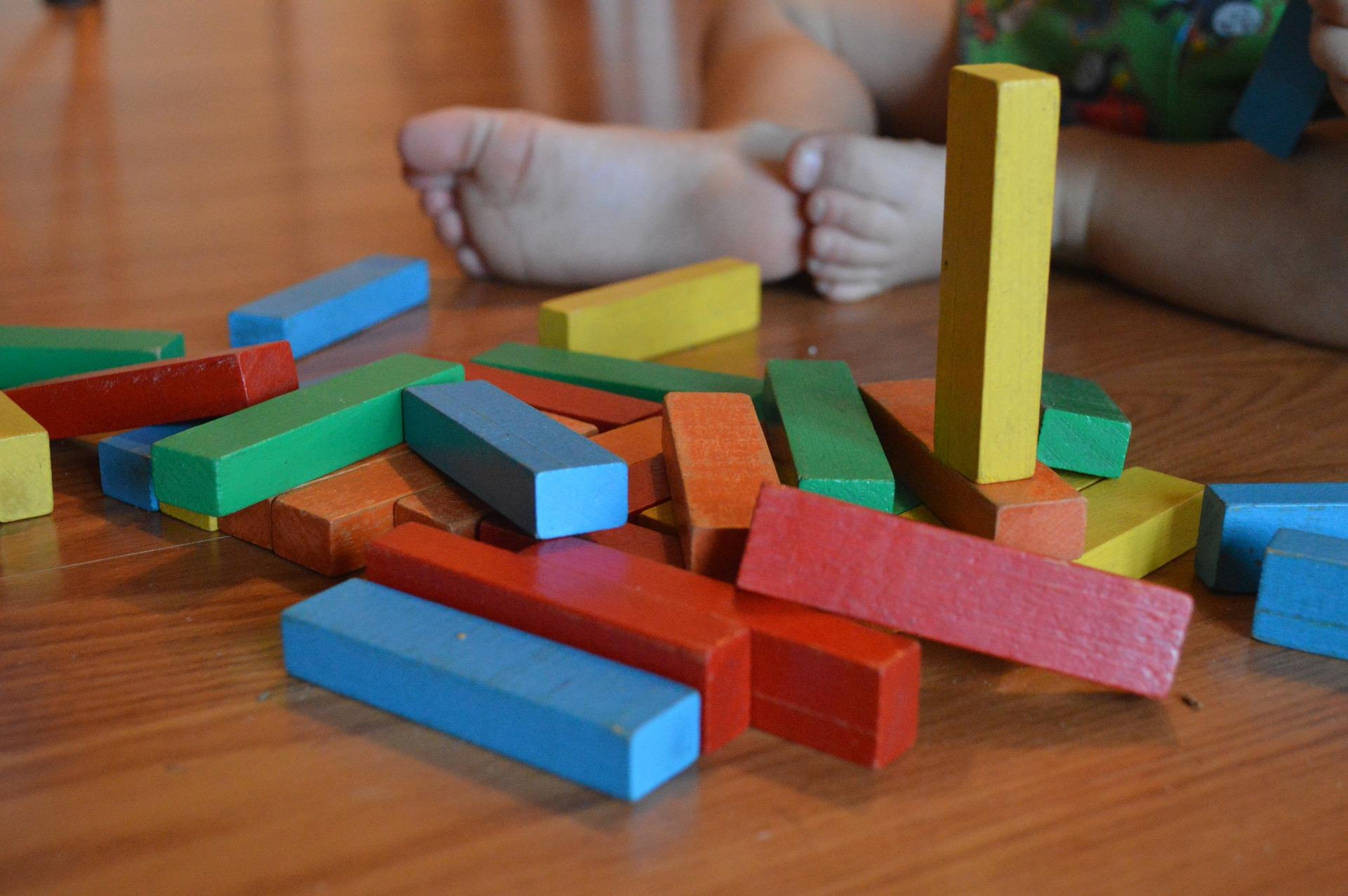 minimaliseren speelgoed