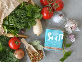 SoepStarter: smakelijke en snelle soep van weggooigroenten