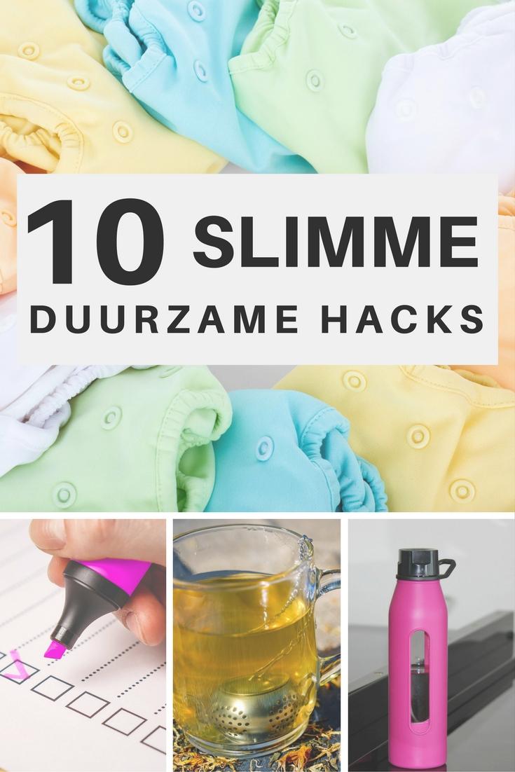 10 slimme duurzame hacks