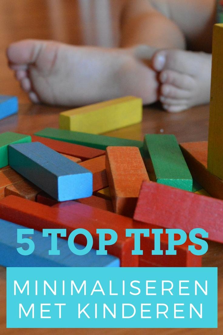 5 tips om te minimaliseren met kinderen