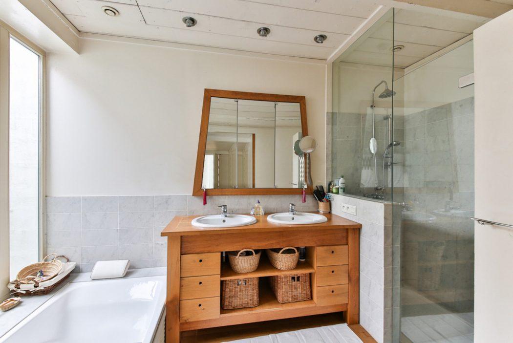 minimaliseren badkamer