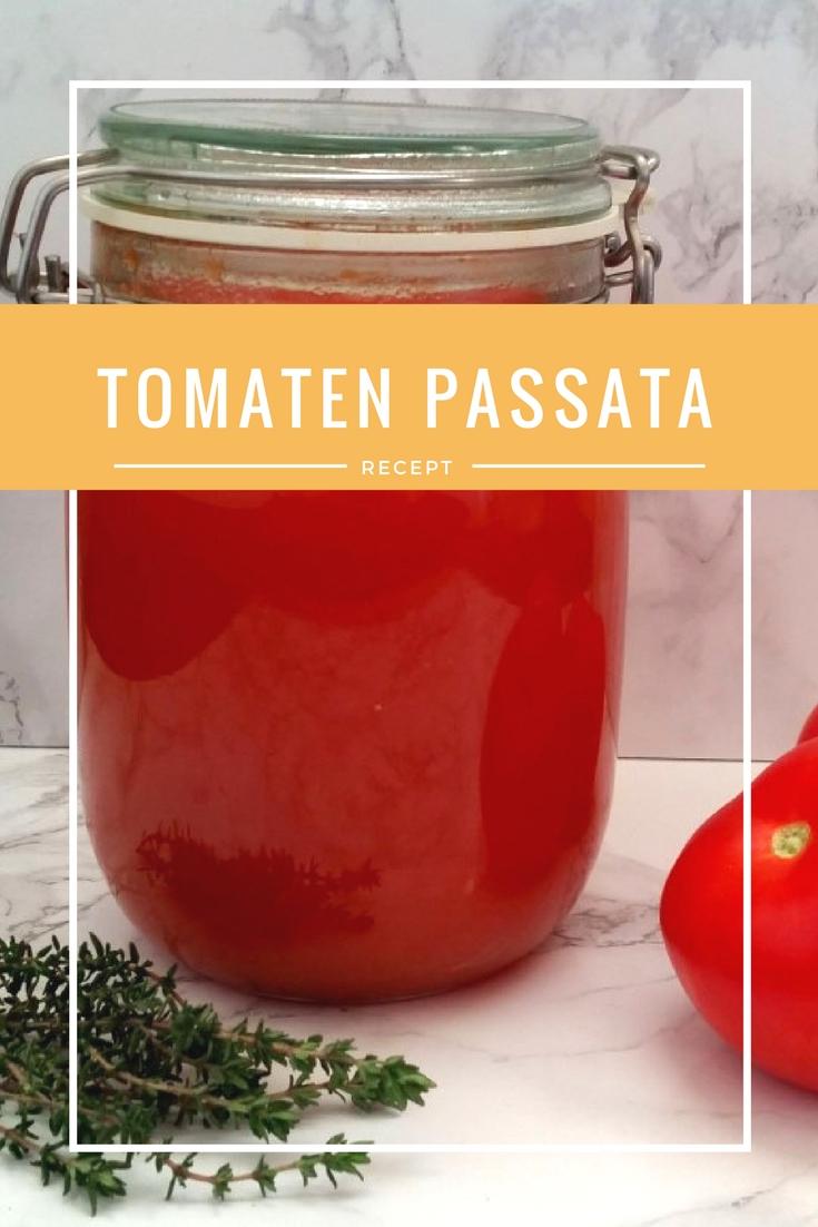 Recept Tomaten Passata