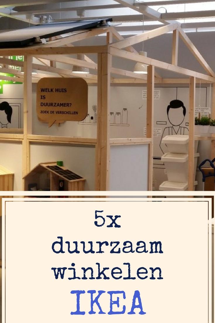 5x duurzaam winkelen bij IKEA