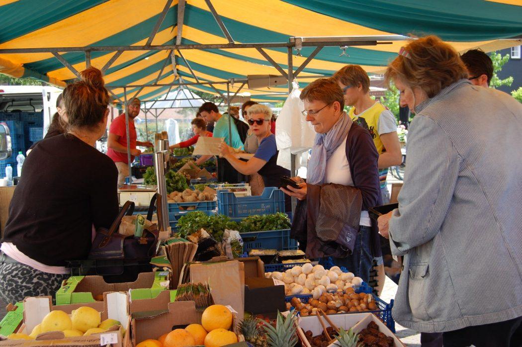 Duurzame weekmarkt Eindhoven