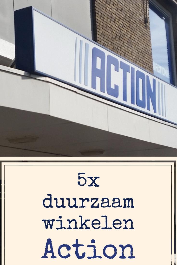 5x duurzaam winkelen bij Action