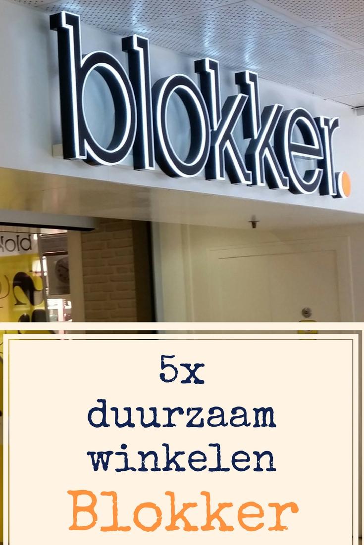 5x duurzaam winkelen bij Blokker
