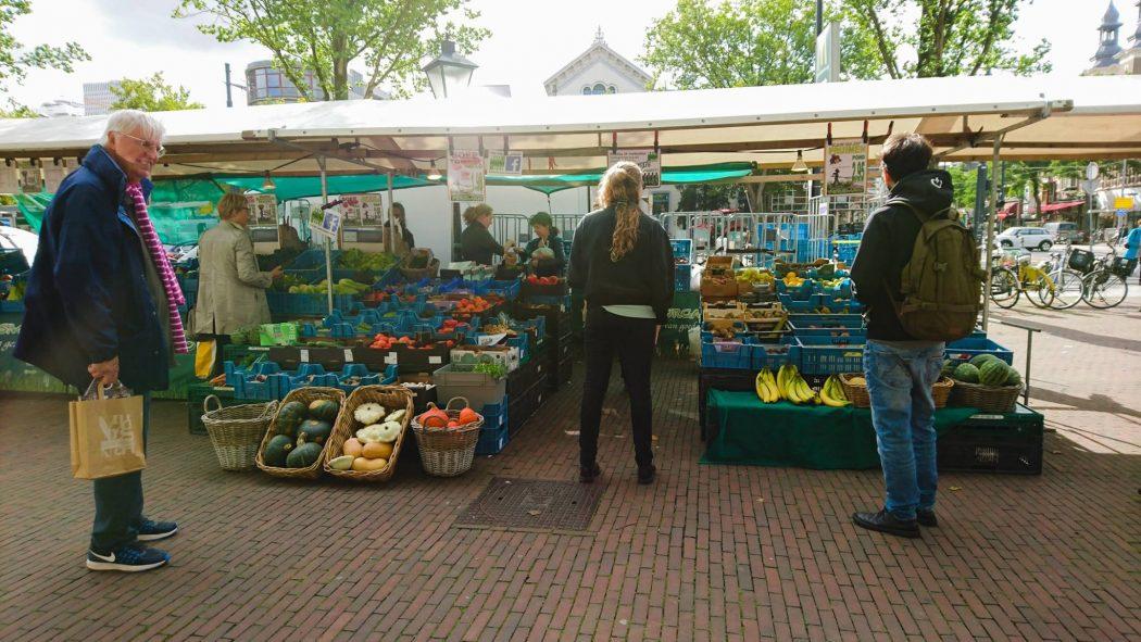 Biologische markt Eendrachtsplein