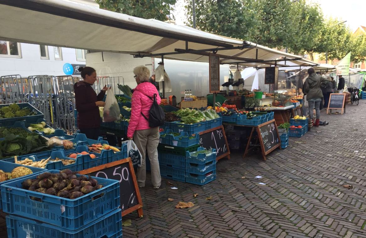 Biologische markt Haarlem