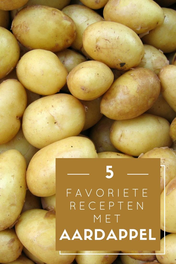 5 favoriete recepten met aardappel