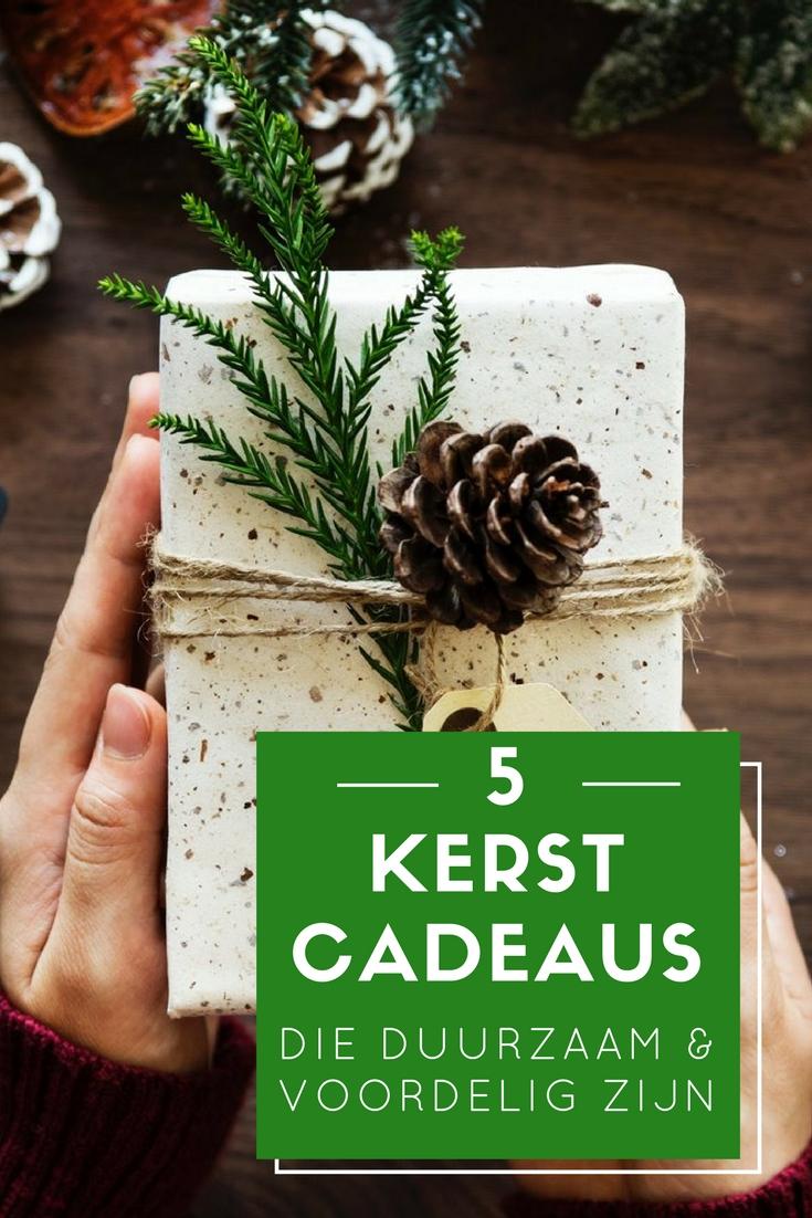 5 tips voor duurzame en voordelige kerstcadeaus