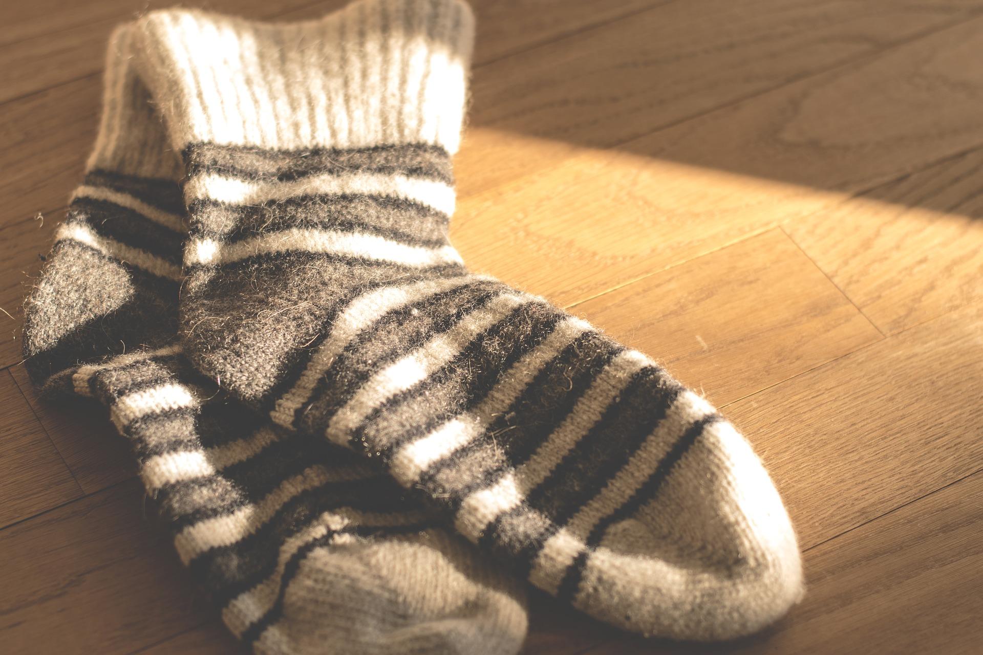 wat te doen met oude sokken