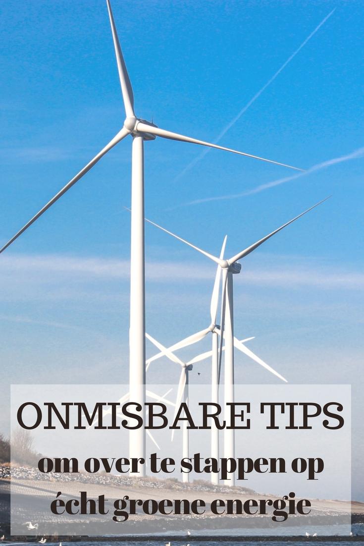 tips om over te stappen op écht groene energie
