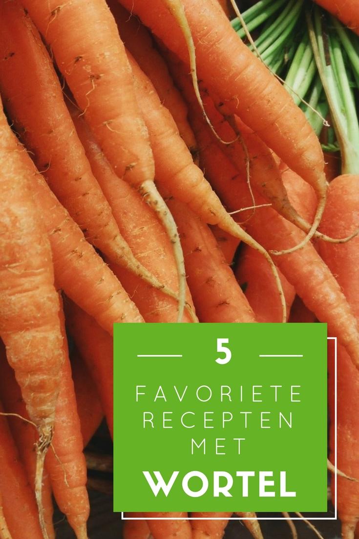 5 favoriete recepten met wortel