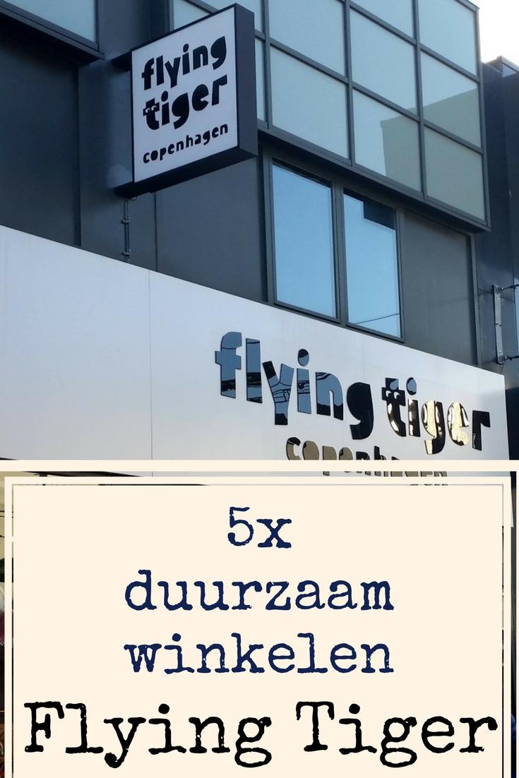 5x duurzaam winkelen bij Flying Tiger