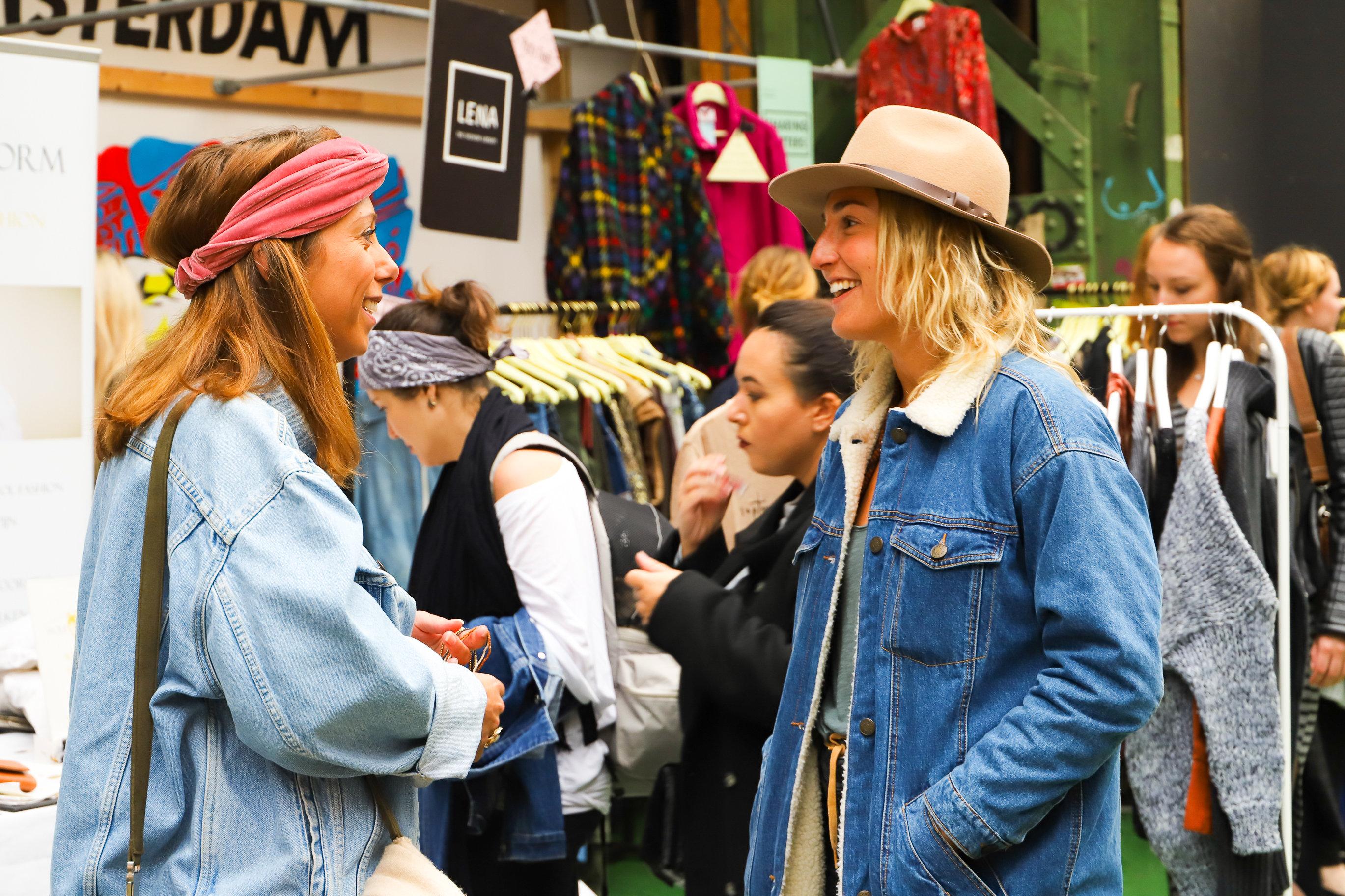 Moderne Hippiemarkt
