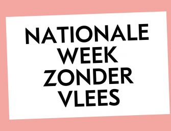 Nationale Week Zonder Vlees 2018