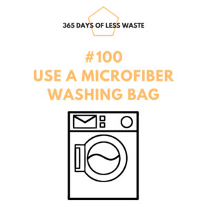#100 use a microfiber washing bag Insta