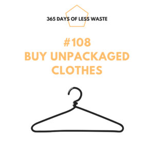#108 buy unpackaged clothes Insta