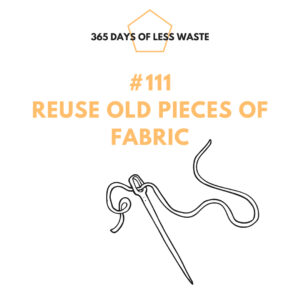 #111 reuse old pieces of fabric Insta