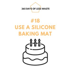 #18 use a silicone baking mat
