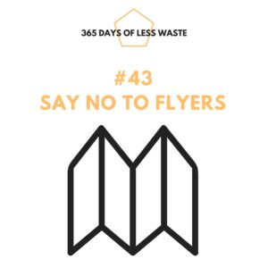 #43 say no to flyers Insta