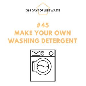 #45 make your own washing detergent Insta