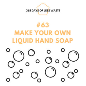 make your own liquid hand soap
