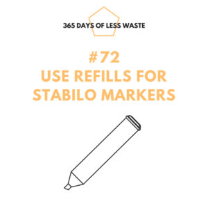 use refills for stabilo markers