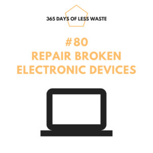#80 repair broken electronic devices Insta