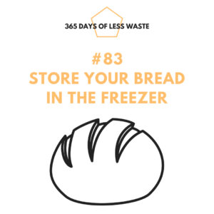 #83 store your bread in the freezer Insta
