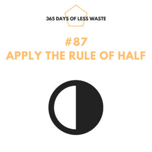 #87 apply the rule of half Insta