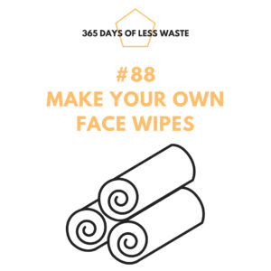 #88 make your own face wipes Insta