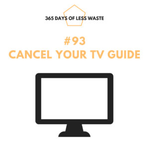#93 cancel your tv guide Insta