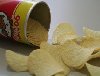 10x wat te doen met lege Pringles bussen