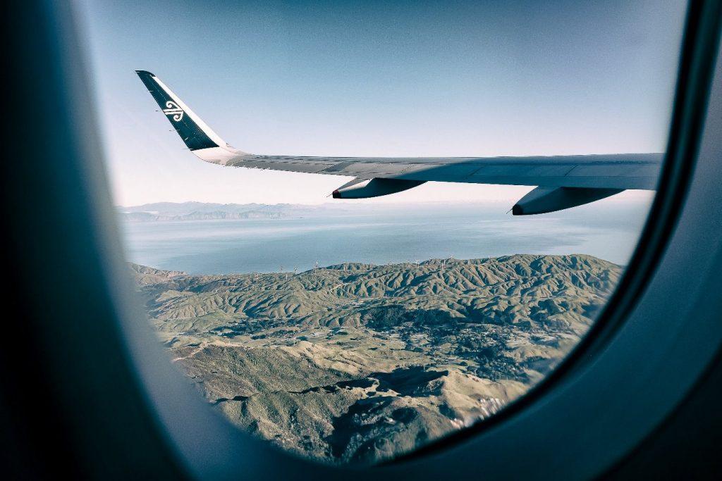 reizen vliegtuig