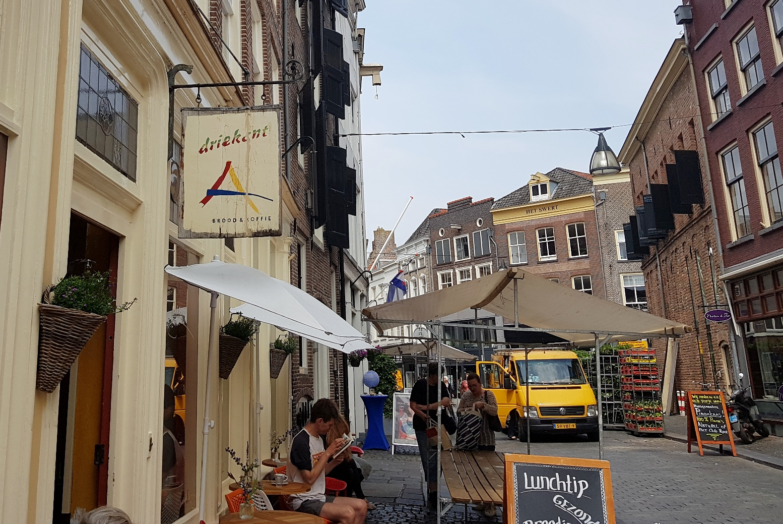 Driekant in Zutphen