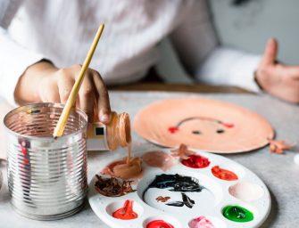 5 tips om te minimaliseren op kindertekeningen