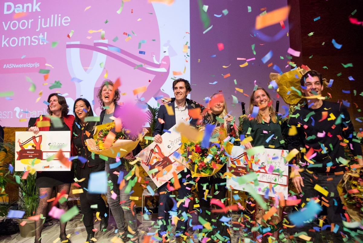 ASN Bank Wereldprijs 2018