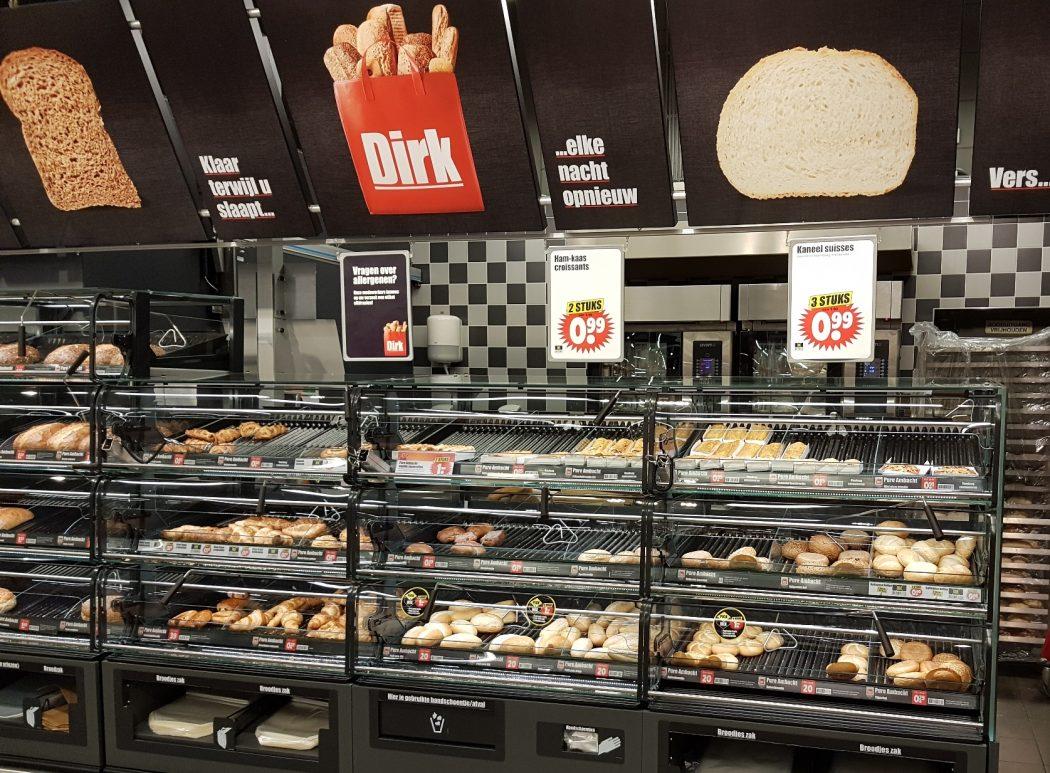 zero waste winkelen bij Dirk