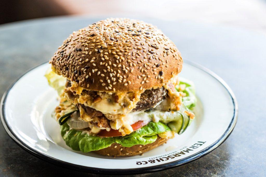 Ter Marsch plantaardige burger