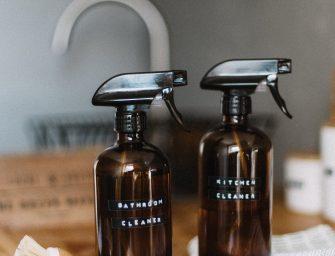 5 tips om te minimaliseren op schoonmaakmiddelen