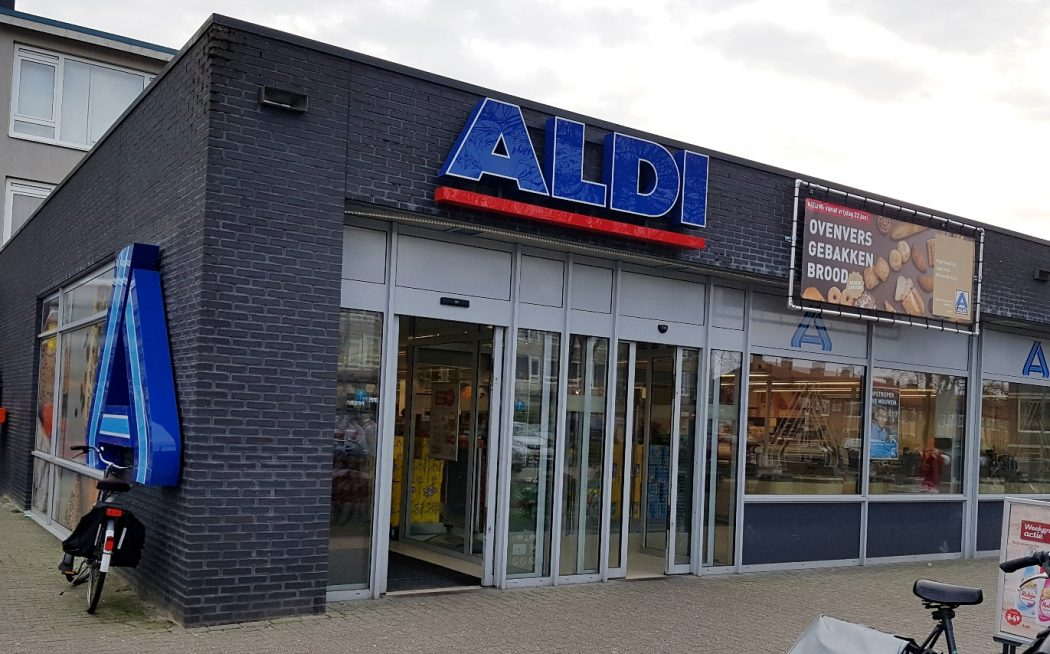 zero waste winkelen bij Aldi