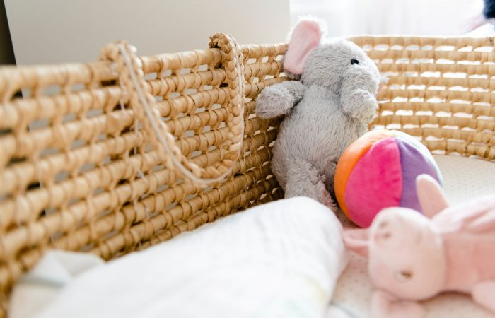 5 tips om te minimaliseren in de babykamer